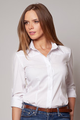 Dámská košile M196 bílá