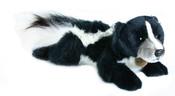 Plyšový skunk ležící 26cm