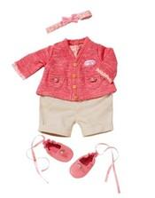 BABY ANNABELL oblečení dupačky a kabátek