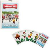 IGRÁČEK Kvarteto dětská karetní hra