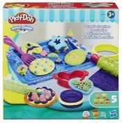 PLAY-DOH Modelína 5 kelímků s doplňky Pečící sada na sušenky
