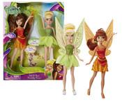 Panenka Disney Fairies Zvonilka a Fauna