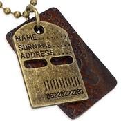 Ocelový pánský náhrdelník th-cth460