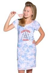 Dívčí košile s nápisem Something of the amazing