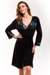 Dámský župan Salomea gown black