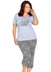 Dámské pyžamo Greta nadměrné velikosti