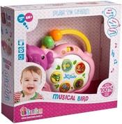 Ptáček baby hudební pro miminko zvuk světlo