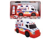 Auto SOS ambulance Sanitka v krabici 33 cm Světlo Zvuk
