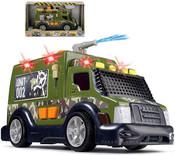 Auto zásahové vojenské s vodním dělem 33 cm Světlo + Zvuk