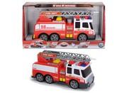 Auto hasičské stříkající vodu 36 cm Světlo Zvuk PLAST