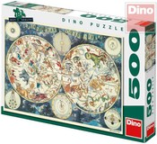 Puzzle 500 dílků Mapa Astrologická