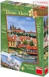 Puzzle 500 dílků Pražský hrad