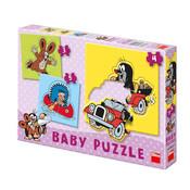 Puzzle BABY Krteček 12 dílků