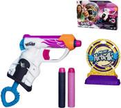 NERF Pistole N-Rebelle set s šipkami a terči Pro holky PLAST