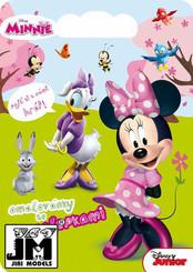 Kreativní set omalovánky a samolepky MINNIE Disney