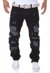 Pánské černé džíny p-ri18