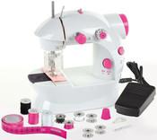 Stroj šicí dětský funkční set s cívkami jehlou a doplňky
