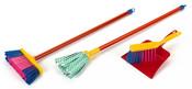 Uklízecí dětský set plastový se stíracím mopem