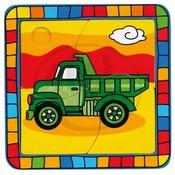 DŘEVO Puzzle Auto nákladní