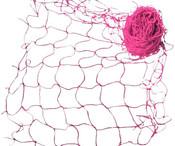 Síť dekorační Růžová na aranžování 5 x 1m Na zavěšování hraček