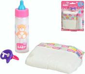 Baby Born set lahvička plena dudlík na kartě pro panenku