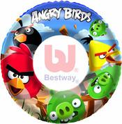 Nafukovací dětský plavací kruh Angry Birds 56cm do vody