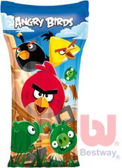 Nafukovací dětská plážová matrace Angry Birds 119x61cm do vody