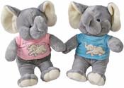 Slon v triku 31 cm 2 barvy