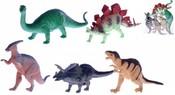 Zvířátka pravěkká 14-21cm Dinosauři set 5ks v sáčku plast
