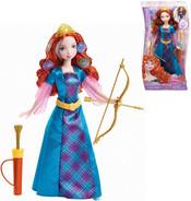 Disney Princezna Merida panenka s vlásky k nazdobení a vybarvení