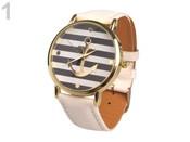 Dámské hodinky 4x23 cm s kotvou