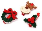 Dřevěné kolíčky - vánoční motivy