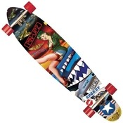 PIN UP 2 Long Board skateboard