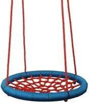 Houpačka síťovaná Kruh 85cm houpací červeno-modrý na zahradu