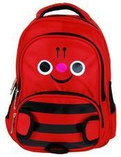 Dětský batoh / batůžek L12001 červený čmelák