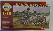 Model Kanón NAPOLEON 1:18 stavebnice děla