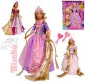 Panenka princezna Steffi Rapunzel 30cm set s doplňky 3 druhy