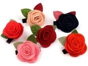 Sponka do vlasů růže