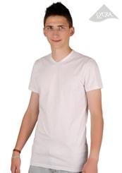 Pánské jednobarevné tričko vzor 002