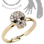 Dívčí prsten Skull am-pst020