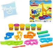 PLAY-DOH Modelína set 6 kelímků s vykrajovátky a doplňky zvířátka