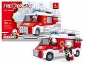 Stavebnice hasiči auto 150 dílů