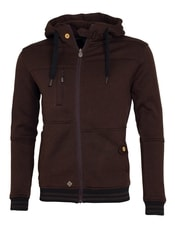 Pánský svetr Fellas Fleece Men´s Brown