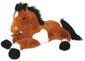 Plyšový kůň 55 cm
