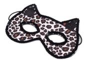 Karnevalová maska - kočka