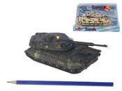 Tank 12 cm kovový světlo a zvuk