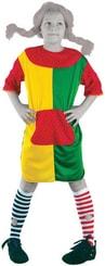 Karnevalový kostým ULIČNICE vel. M (120-130cm) 5-9 let