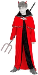 Karnevalový kostým ČERT vel. S (110-120 cm) 4-6 let