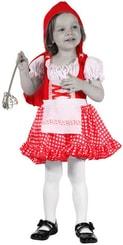 Karnevalový kostým ČERVENÁ KARKULKA vel. XS (92-104 cm) 3-4 let