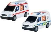 Auto POLICIE nebo AMBULANCE s funkcí narážení a odrážení